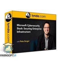 دانلود Lynda Microsoft Cybersecurity Stack:  Securing Enterprise Infrastructure