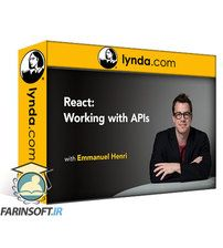 دانلود Lynda React: Working with APIs