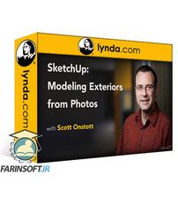 دانلود Lynda SketchUp: Modeling Exteriors from Photos