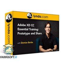 دانلود Lynda Adobe XD Essential Training: Prototype and Share