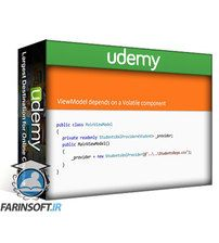 دانلود Udemy Software Architecture: Dependency Injection for C# Devs