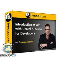 دانلود Lynda Introduction to AR with Unreal and Xcode for Developers