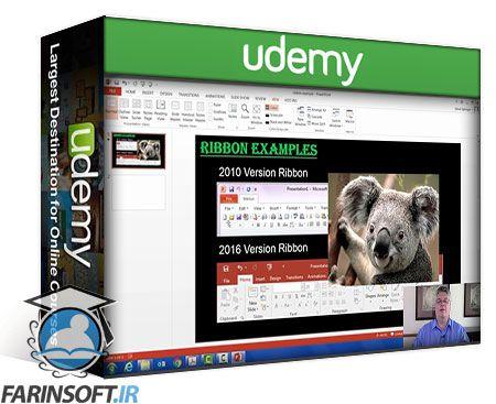 دانلود Udemy PowerPoint: The Complete Step X Step PowerPoint Course! 6HR