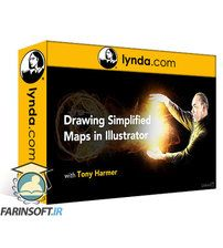 دانلود Lynda Drawing Simplified Maps in Illustrator