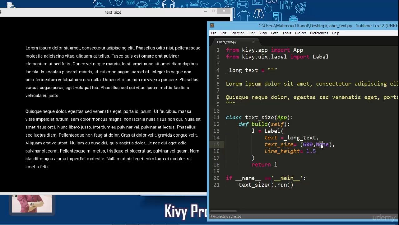 دانلود Udemy Kivy Bootcamp : Build 15 Project