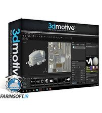 دانلود 3DMotive Coaster Cart Asset in Maya Volume 1-2