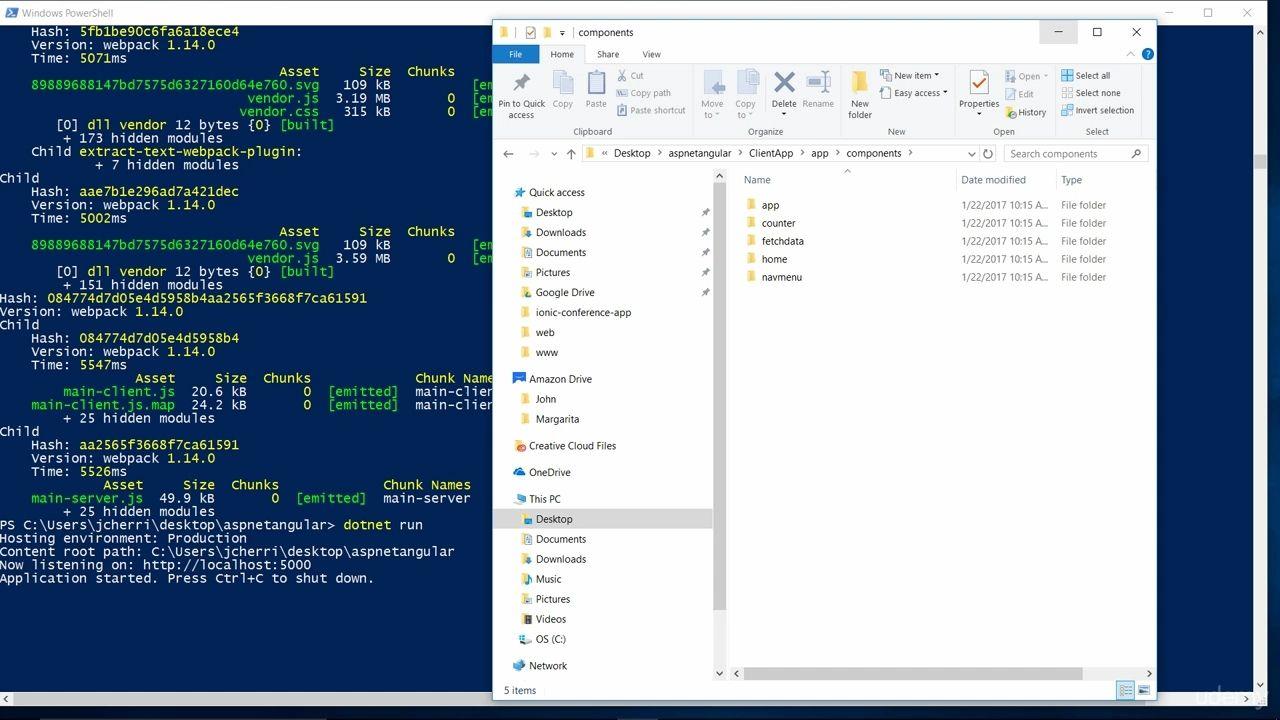 دانلود Udemy ASP NET Core (ASP NET 5),MVC 6,C#,Angular4 & EF