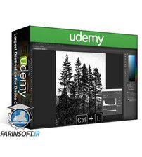 دانلود Udemy Draw And Animate Professional Cinemagraph in Photoshop