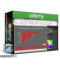 دانلود Udemy Power BI: Create a Power BI Productivity Dashboard