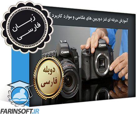 دانلود آموزش حرفه ای لنز دوربین های عکاسی و موارد کاربرد آن ها – به زبان فارسی