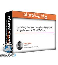 دانلود PluralSight Building Business Applications with Angular and ASP.NET Core
