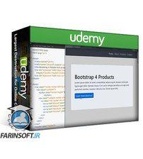 دانلود Udemy Bootstrap 4 Single Page Website from Scratch