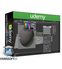 دانلود Udemy Learn 3DS MAX , VRAY , PS : Texture & Render the MediaTech