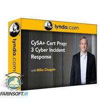 دانلود Lynda CySA+ Cert Prep: 3 Cyber Incident Response