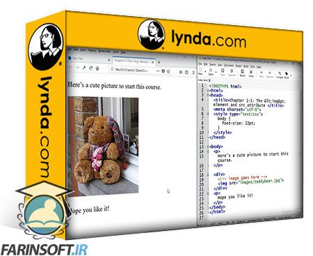 دانلود Lynda HTML: Images and Figures