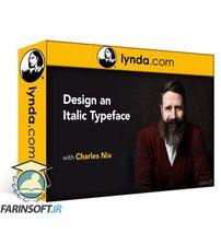 دانلود Lynda Design an Italic Typeface