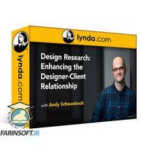 دانلود Lynda Design Research: Enhancing the Designer-Client Relationship