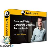 دانلود Lynda Excel and Visio: Generating Diagrams Automatically