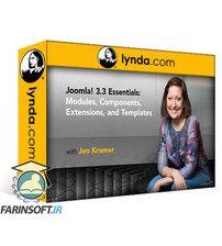 دانلود Lynda Joomla! 3 Essential Training: 2 Modules Components Extensions & Templates