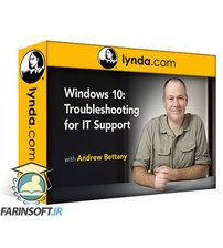 دانلود Lynda Windows 10: Troubleshooting for IT Support