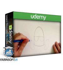 دانلود Udemy Cartooning for Beginners – How to Draw Cartoon Robots!