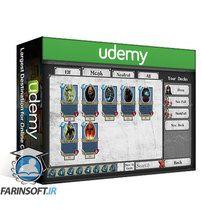 دانلود Udemy Learn How to Make Trading Card Game Menus With Unity 3D
