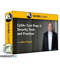 دانلود Lynda CySA+ Cert Prep: 6 Security Tools and Practices