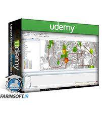 دانلود Udemy Learn the basics of ArcGIS software + hydrology application