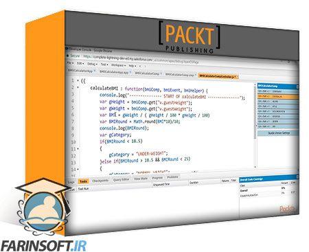 دانلود PacktPub Complete Salesforce Lightning Application