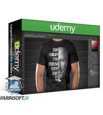 دانلود Udemy Bestselling T-shirt Design Masterclass With Adobe Photoshop