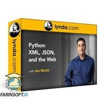 دانلود Lynda Python: XML, JSON, and the Web