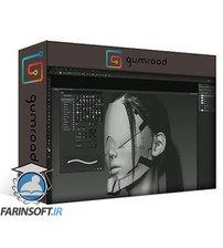 Gumroad Futuristic Character Design