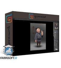 دانلود Gumroad Momo Character Rendering for Animation 2 by Ryan Lang
