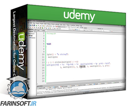 دانلود Udemy C Programming For Beginners - Master the C Language