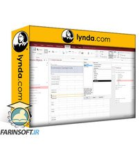 دانلود lynda Access: Building a Sales Database