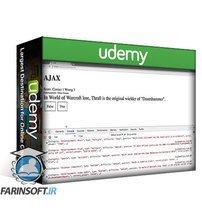 دانلود Udemy AJAX API exercises JavaScript Trivia web application