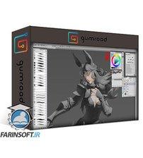 دانلود Gumroad Paint the Fantasy Character