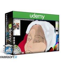 Udemy Graphic Design | Female Portraiture