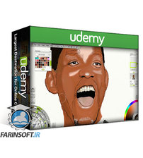 دانلود Udemy Graphic Design   Realistic Portraiture