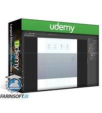 دانلود Udemy Learn Web Design In Photoshop By Practical Projects