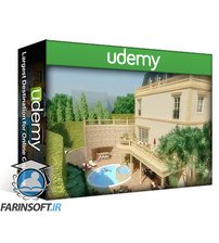 دانلود Udemy 3D Animation for Architecture 3ds max + Vray (phase 1)