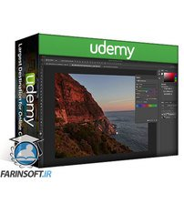 دانلود Udemy Photoshop CC: Adjustement Layers, Blending Modes & Masks
