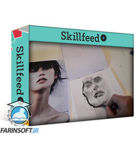دانلود Skillshare Draw an expressive portrait with charcoal