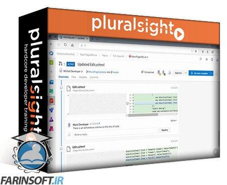 دانلود PluralSight Microsoft Azure Developer: Managing Code Reviews with VSTS