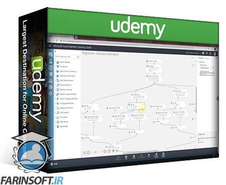 دانلود Udemy Microsoft Azure Machine Learning (ML) Fundamentals