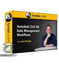 دانلود lynda Autodesk Civil 3D: Data Management Workflows