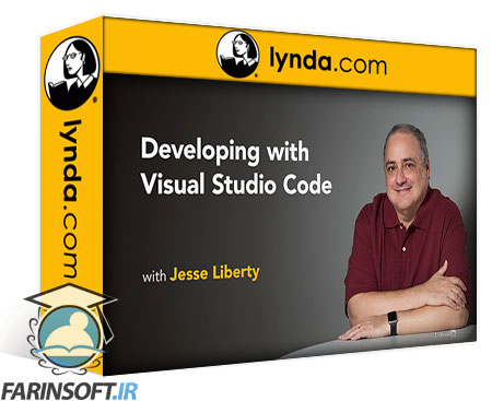 دانلود lynda Developing with Visual Studio Code