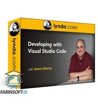 دانلود lynda Developing with Visual Studio Code