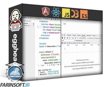 دانلود egghead Build Async Vue.js Apps with RxJS