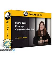 دانلود lynda SharePoint: Creating Communication Sites